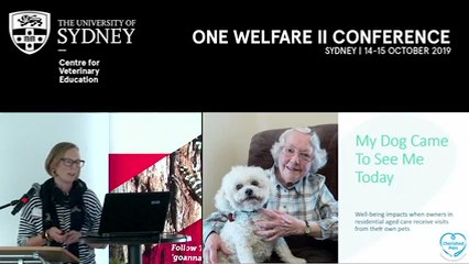 My dog came to see me today: Well-being impacts when owners in residential aged care receive visits from their own pets