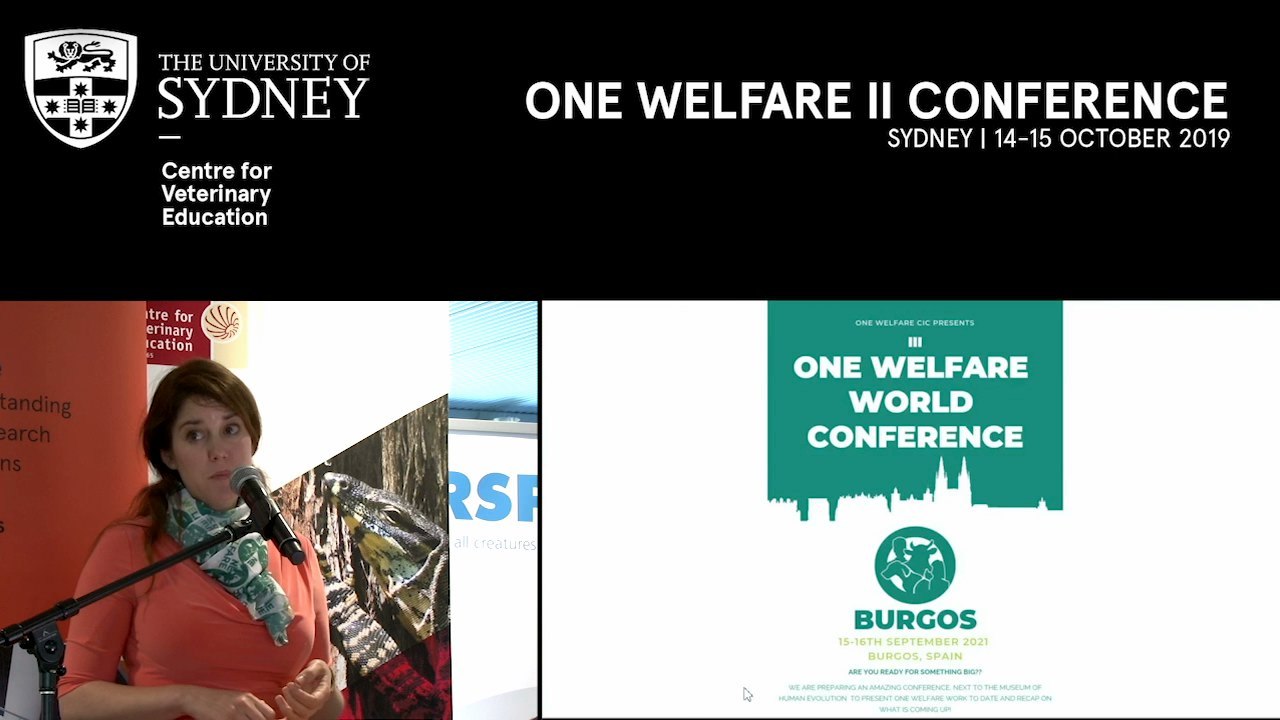 Announcement of Leadership for the 3rd International One Welfare Conference