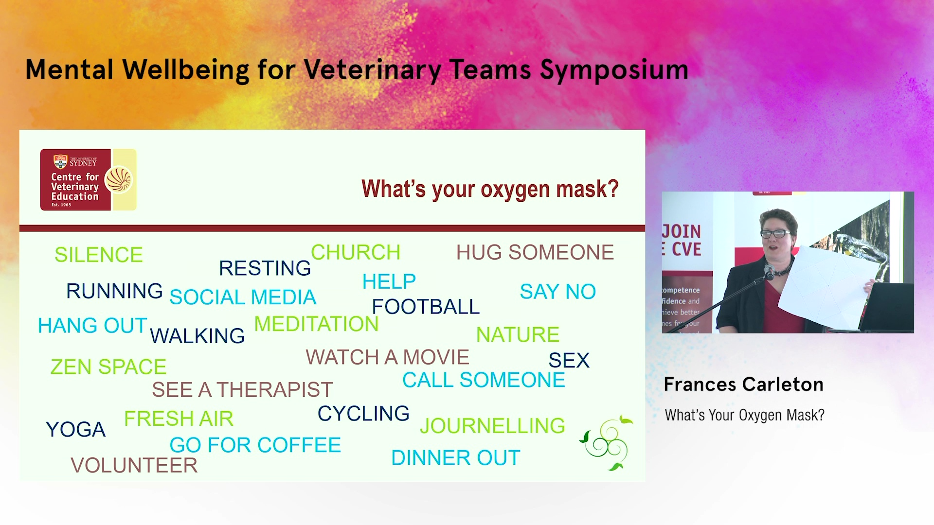 What's Your Oxygen Mask?